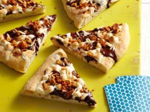 Guy Fiori's S'mores Pizza.  Photo by Yunhee Kim, Food Network Magazine