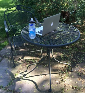 Do homework in a different environment. (Photo by K.Nollet, 2015)