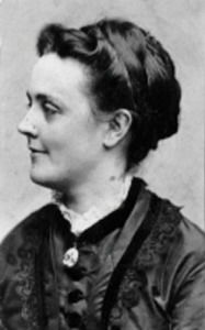 "Sarah Orne Jewett, author of short story ""Decoration Day"" (1892)."