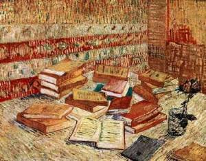 Still Life with French Novels and a Rose, Vincent Van Gogh (1887)