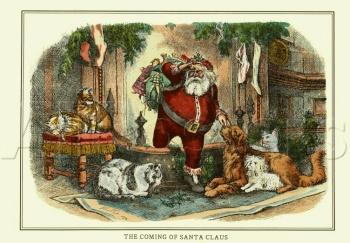 Thomas Nast, Santa Claus